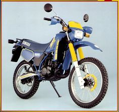 Yamaha DT125LC. Not bad... was a time you either got this or the KMX, I had the KMX a lot had this, I thought this had much better brakes but apart from that it was nowhere near as good as the KMX, Kwaka pwned :)
