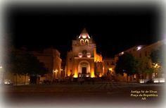 Praça da República com Sé de Elvas | Portal Elvasnews