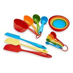 Fiesta® 17-Piece Measuring and Baking Set