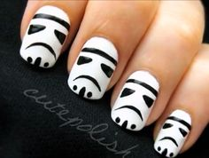 Storm Trooper nails? LOL