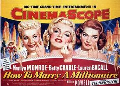 How to Marry a Millionaire. So charming and funny, they don't make movies like this anymore.