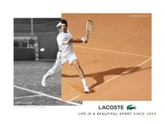 Lacoste names Novak Djokovic as global brand ambassador
