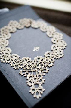 Wedding Necklace  #ecomariage