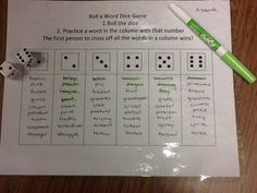 Liz's Speech Therapy Ideas: Roll a Word Articulation Game