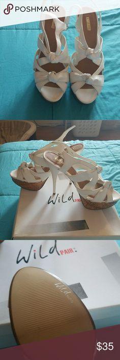 5 inch heels Pair of wildpair shoes Never worn and still in box kelsie wp Shoes Heels