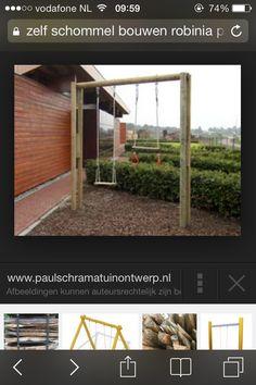 Schommel tuin algemeen pinterest products - Eigentijds pergola design ...