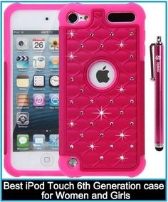 Best iPod Touch 6th Generation case for Women and Girls ...