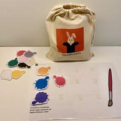 Sanasäkki — KONKREETTISTA VARHAISKASVATUSTA Lunch Box, Organization, Education, Opi, Experiment, Getting Organized, Organisation, Bento Box, Tejidos