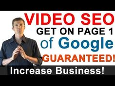 Video SEO - Marketing Your Videos By Getting Them Ranked With Video Search Engine Optimization