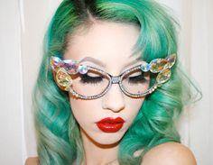 The best vintage, cat eye glasses ever: