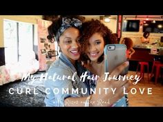 My Natural Hair Journey: Curl Community Love (video)  Experience this fun curl girl event  with me! #vlog #naturalhair #transitioninghair #curlgirl
