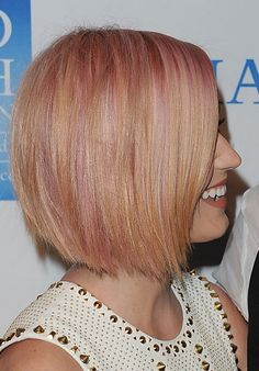 Love Katie Perry's hair. Even the pink.