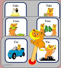 If you own this set please download the revised version. New images and followup coloring pages based on minimal pairs /k/ and /t/ http://www.teacherspayteachers.com/Product/Listening-Lions-Listen-for-k-and-t-315196