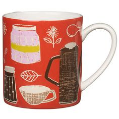 John Lewis retro collection mug
