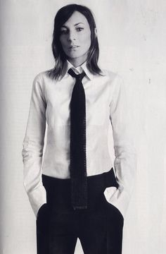 Celine's Phoebe Philo photographed by David Sims. #NMFallTrends
