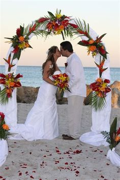 Affordable Beach Weddings - A Little More Packages - Miami, FL
