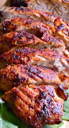 Grilled Brown Sugar Chili Pork Tenderloin