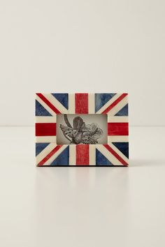 Union Jack Frame by  Anthropologie