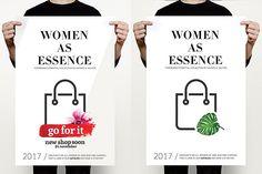 Fashion Sale Flyer by MrMoustache on @creativemarket