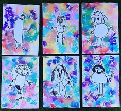 Self-portraits are a fantastic way for children to explore their sense of self and build their self-identity. I love doing self portraits…