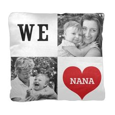I Heart You Pillow | Custom Pillows | Home Decor | Shutterfly