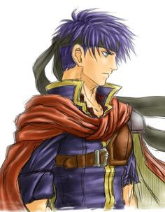 A side view of Ike.