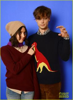 """Celeb Diary: Matthew Gray Gubler with the cast of """"Life After Beth"""" at 2014 Sundance Film Festival"""