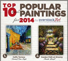 Top 10 Most Popular Art for 2014: Vincent van Gogh Remains on Top with 3 Paintings on the List