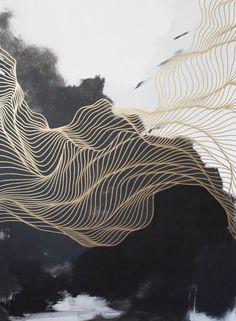 """Saatchi Art Artist Tracie Cheng; Painting, """"Above the Depths"""" #art"""