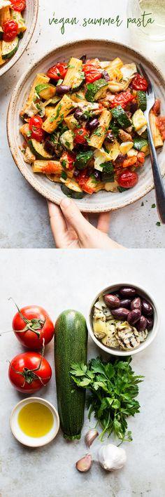 Vegan summer pasta - New Ideas - Vegan summer pasta . - Vegan summer pasta – New Ideas – Vegan summer pasta lunch – - Vegan Noodles Recipes, Pastas Recipes, Vegan Pasta, Salad Recipes, Vegetarian Recipes, Dinner Recipes, Cooking Recipes, Healthy Recipes, Vegetarian Vietnamese