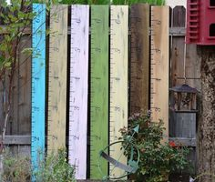 Oversized Ruler Growth Chart made to order by DollickDesigns