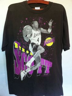Vintage Los Angeles Lakers Byron Scoot 8397cd7e5