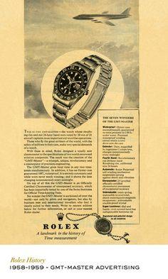 Rolex GMT-Master advertising. #RolexOfficial