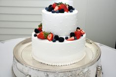 wedding cakes berries - Google Search
