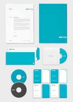 #Identity #Branding #Blue