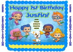 Hey, I found this really awesome Etsy listing at https://www.etsy.com/listing/172309896/personalized-bubble-guppies-edible-image