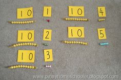 beads for teen numbers