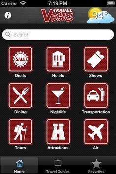 TravelVegas iPhone App Screenshot