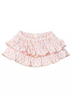 Baby Girls + Accessories Frilled Skort Super White knickers