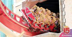 Se viene la curva y tu grito se escucha en todo el parque. #momentoEnjoy15  #UniversalMoments #UniversalStudiosFlorida #Sky #Fun #Vacation #Igers #LoveFL #Coaster #HollywoodRipRideRockit #InstaWow #InstaGood #InstaDaily #igersorlando #rollercoaster