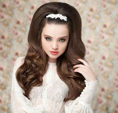 1036 best Long and Retro Hair! Pin-Up, retro-style images on ...