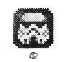 GOOD VERY GOOD https://www.facebook.com/Pixelol.FUN  pixe lol, hama, perler, design, pixel, pixelol, Stormtrooper, star wars