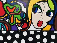 Virginia Benedicto - Pour une fois - Acrylique sur toile - 60x80 - 2014 #virginiabenedicto #artwork #artcontemporain #galerieduret
