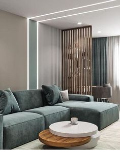 55 Beautiful Modern Living Room Ideas - Living Room Color Ideas - Home Sweet Living Room Divider, Home Living Room, Interior Design Living Room, Living Room Furniture, Living Room Designs, Living Room Decor, Interior Decorating, Studio Interior, Interior Designing