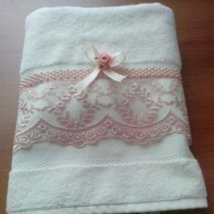 You are in the right place about sketchbook ideas Here we offer you the most beautiful pictures abou Bathroom Towel Decor, Personalized Towels, Towel Crafts, Embroidered Towels, Decorative Towels, Gift Store, Bath Accessories, Crochet Designs, Towel Set