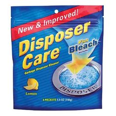 Disposer Care Garbage Disposal Cleaner