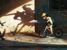 Don Kichote, Mateusz Lenart on ArtStation at https://www.artstation.com/artwork/ByLql