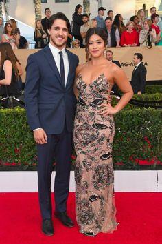 "Gina Rodriguez Gushes Over Her Boyfriend, Joe: ""You Make My Heart Smile"""