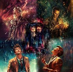 The ninth, tenth, eleventh, and twelfth doctor