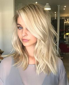 Amazing Blond Balayage Hair Colors For Long Hair In 2019 - Page 28 of 35 - Dazhimen Blonde Ombre Hair, Blonde Balayage, Summer Blonde Hair, Summer Hair, Color Rubio, Hair 2018, Hair Lengths, Girl Hairstyles, Hairstyles 2018